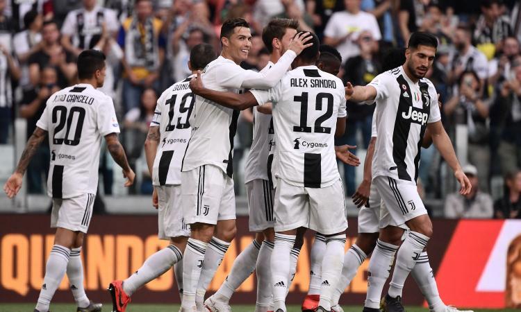 Juve: la classifica marcatori degli 8 scudetti consecutivi