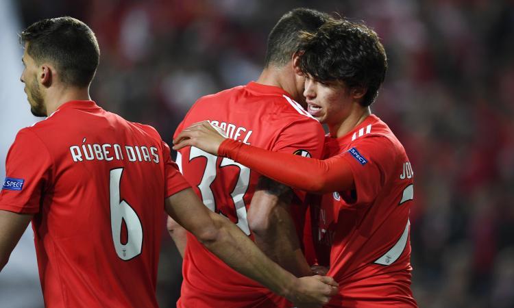 Joao Felix show, in gol anche Ruben Dias: i due assi portoghesi sono da Juve