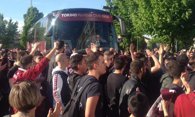Empoli-Torino: invasione di tifosi granata al Castellani