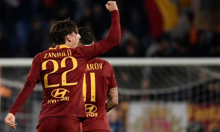 Roma, l'Inter tifa per la cessione di Zaniolo