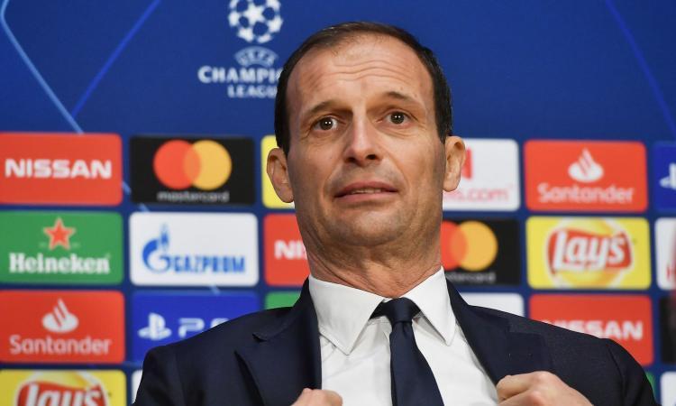 Allegri: c'è il PSG, la Juventus riflette su Conte e studia tutte le alternative