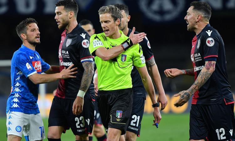 Udinese-Juve: arbitra Chiffi, ecco assistenti e var