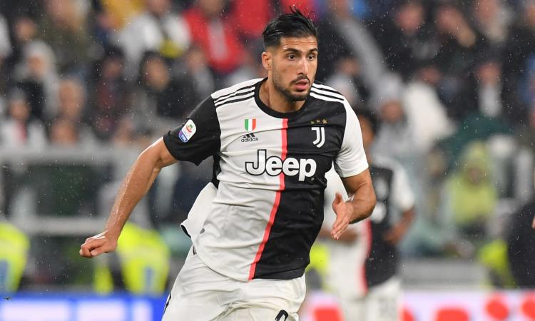 Juve: quattro club su Emre Can