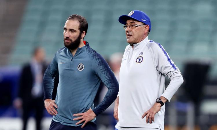 Juve-Chelsea, non si parla solo di Sarri: il punto su Higuain. Ed Emerson Palmieri...