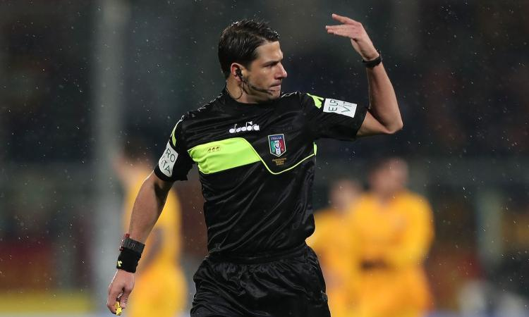 Bologna-Napoli: ecco arbitro, assistenti e Var