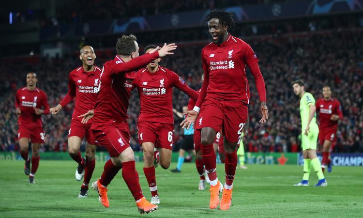 Wijnaldum+Origi, gli eroi inattesi del Liverpool: la firma di Klopp sulla finale