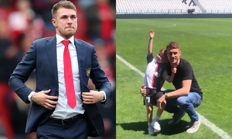 La previsione degli agenti di Ramsey: 'Champions alla Juve l'anno prossimo'