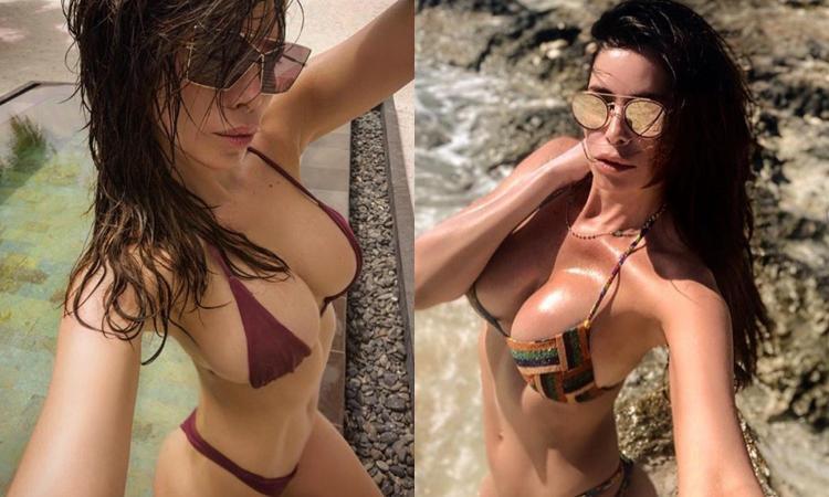 Aida è già in vacanza: bomba sexy in spiaggia FOTO