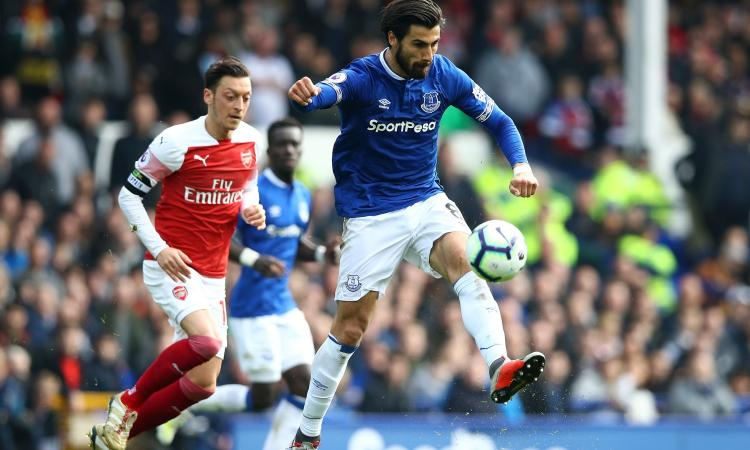 André Gomes: 'Restare all'Everton non è un passo indietro'