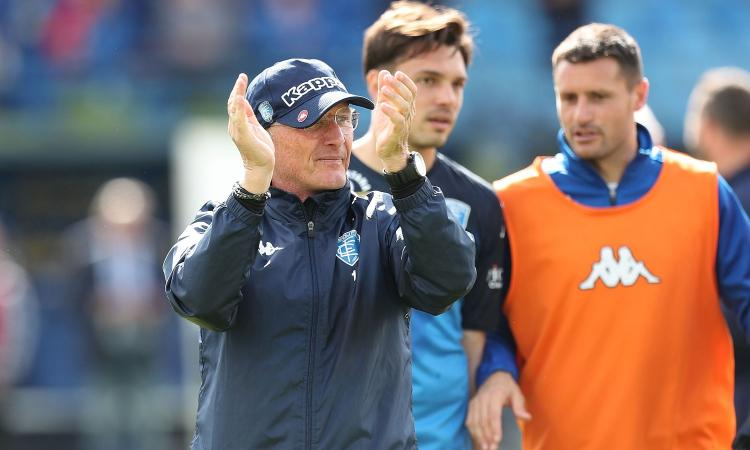 Empoli, Andreazzoli: 'Spalletti? Speriamo di gioire entrambi. Fiorentina-Genoa sia regolare'