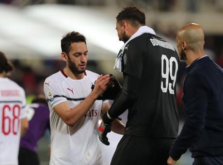 Il Milan merita e lascia accesa la fiammella Champions. Montella, incubo viola