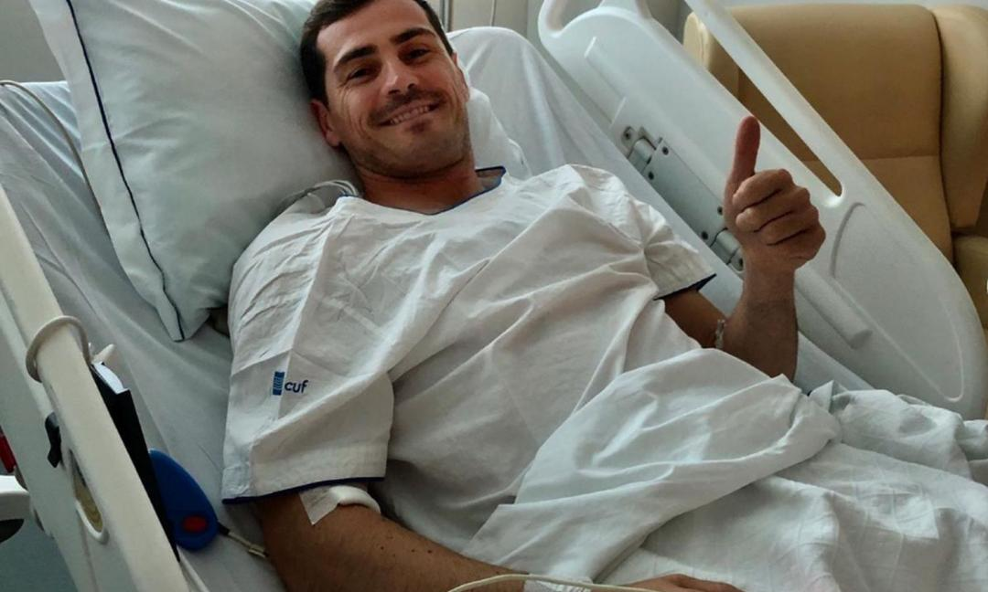 Paura per Casillas, sopravvive a infarto acuto