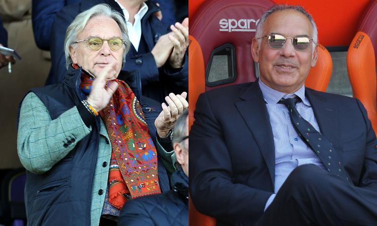 Firenze e Roma, il ritorno della piazza: i tifosi insorgono contro Della Valle e Pallotta, presidenti assenti