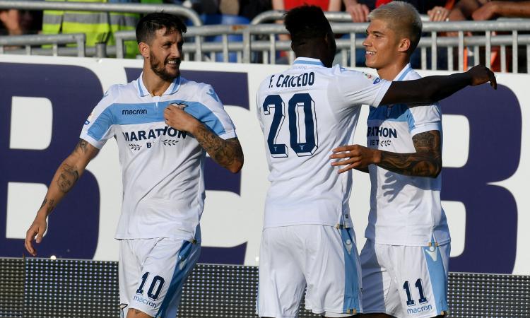 Cagliari-Lazio 1-2: il tabellino