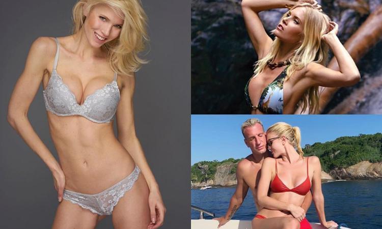 Daniela in Brasile con Maxi Lopez: 'Sembriamo una coppia di Barbie, non sapevo fosse un calciatore' FOTO
