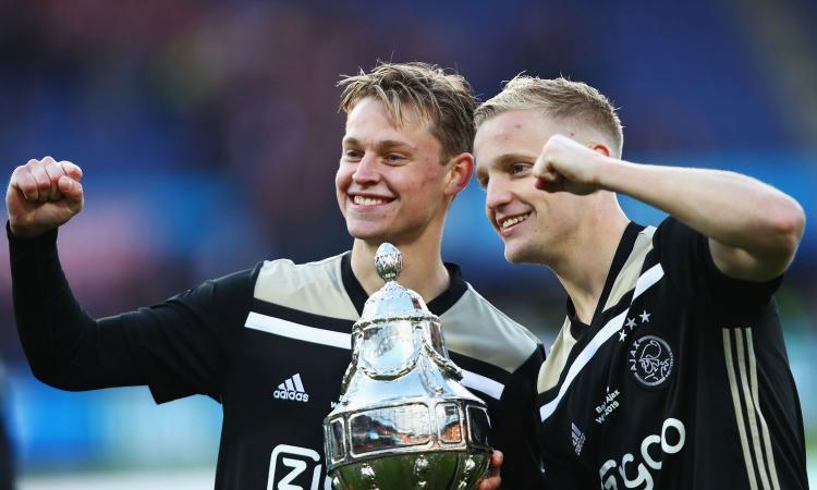 De Jong: 'De Ligt? Sarebbe bello giocare insieme anche al Barcellona'