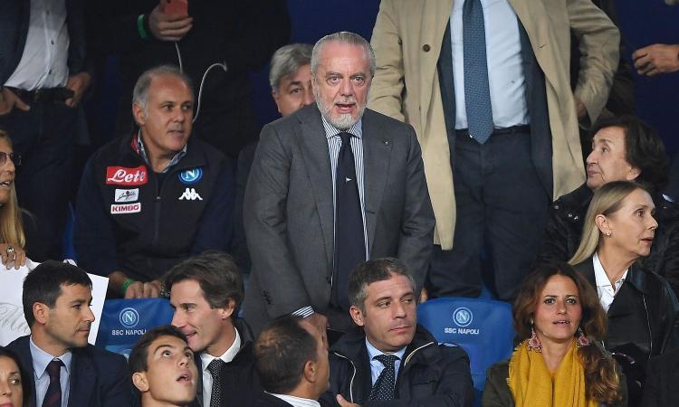 De Laurentiis: 'L'Inter vuole smantellarmi la squadra! Sarri-Juve? A ognuno la responsabilità delle proprie azioni'