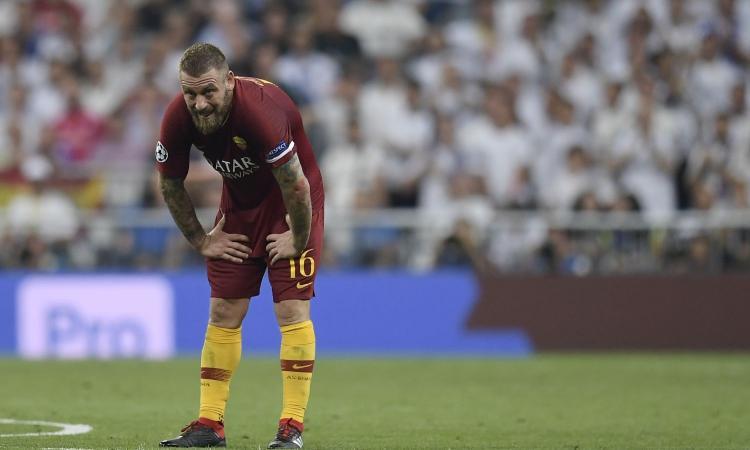 Tapiro d'oro a De Rossi: 'Roma, ci sono rimasto male'. E venerdì i tifosi contesteranno davanti alla sede