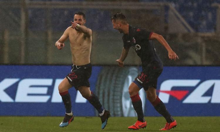 Il Bologna pareggia 3-3 contro la Lazio ed è SALVO: impresa di Mihajlovic