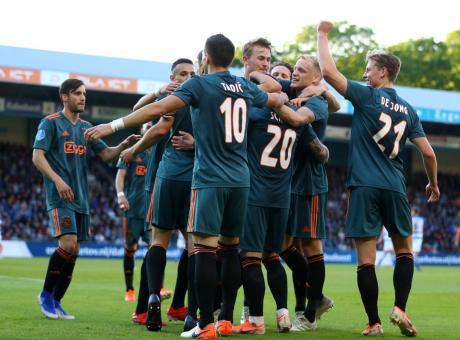 Eredivisie: Ajax campione d'Olanda! VIDEO