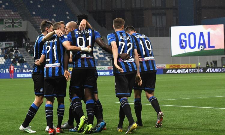 3-1 al Sassuolo, l'Atalanta è in Champions League!
