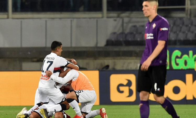 Fiorentina e Genoa, una salvezza da vergognarsi: l'ultima umiliazione dei Della Valle al Franchi