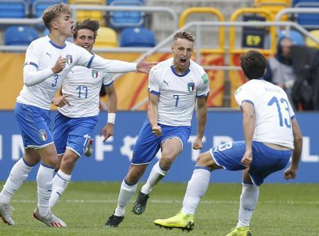 L'Italia Under 20 vola all'esordio Mondiale: 2-1 al Messico
