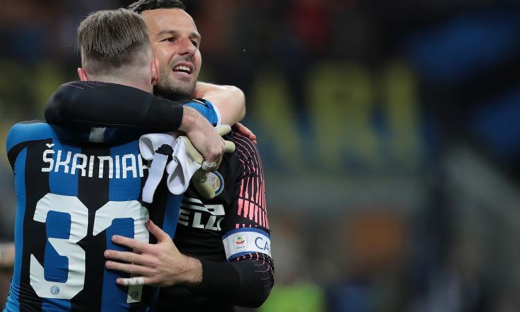 Inter, Handanovic: 'Icardi? La società è stata chiara. C'è euforia nello spogliatoio' VIDEO