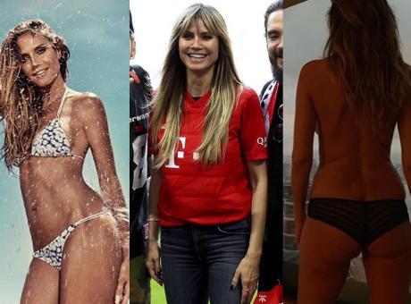 Il Bayern alla madrina Heidi Klum: 'Ti aspettiamo a Los Angeles!' FOTO