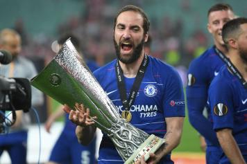 higuain, chelsea, coppa, europa league, 2018/19