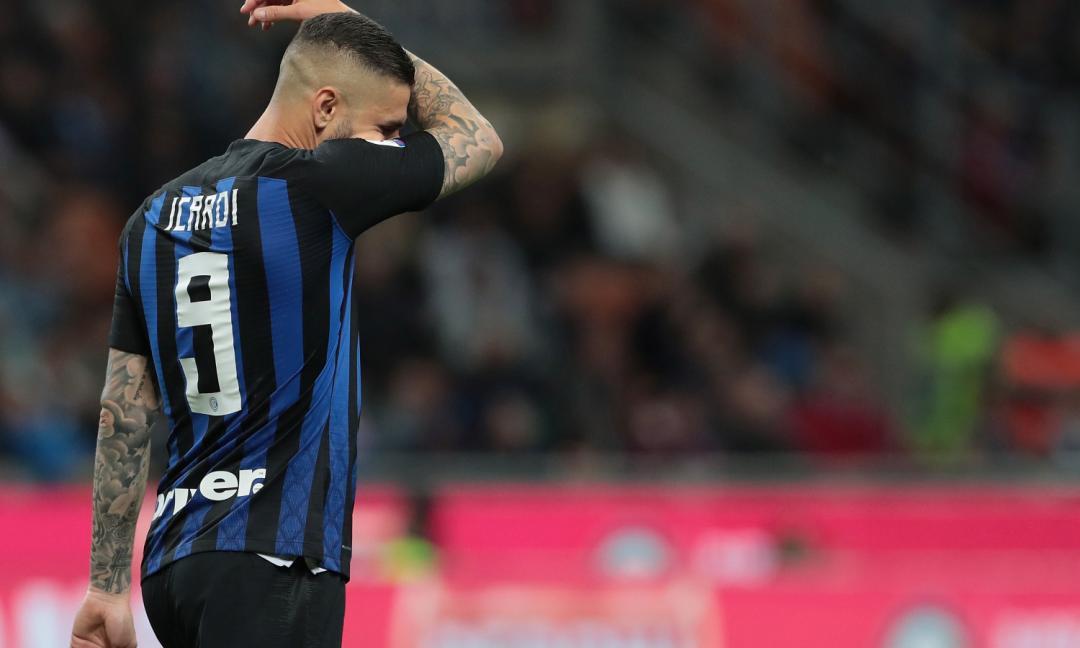 Dramma Inter se resta Icardi