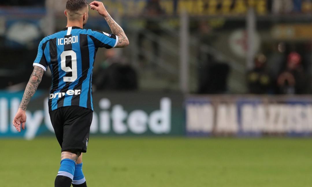 Dzeko spinge Icardi fuori dall'Inter