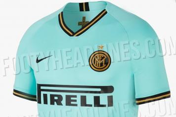 free shipping e96bb 18e15 Watch: Inter present new away kit for the upcoming season ...