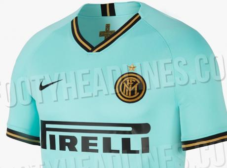 Inter, svelata la seconda maglia 2019/20: sarà verde Tiffany FOTO