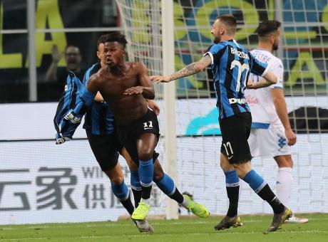 Keita e Handanovic mandano l'Inter in Champions: 2-1 a San Siro, Empoli in B!