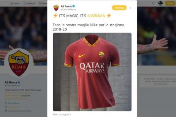 wholesale dealer 3255f 295b5 OFFICIAL: Roma unveil new home jersey   English News ...