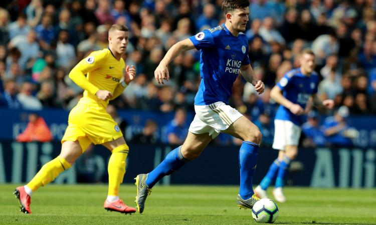 Manchester United, il Leicester fissa il prezzo di Maguire