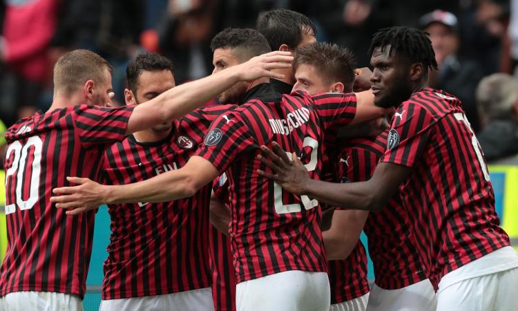 Il Milan rischia, ma viene salvato da Donnarumma e Suso: 2-0 al Frosinone, Gattuso è ufficialmente in Europa