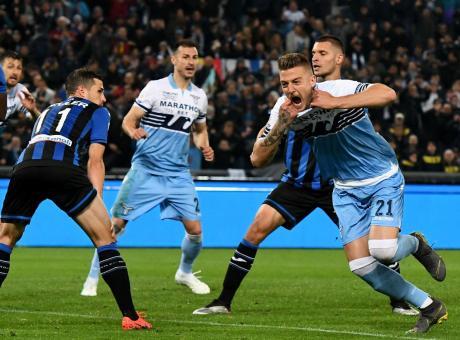Atalanta-Lazio 0-2: il tabellino