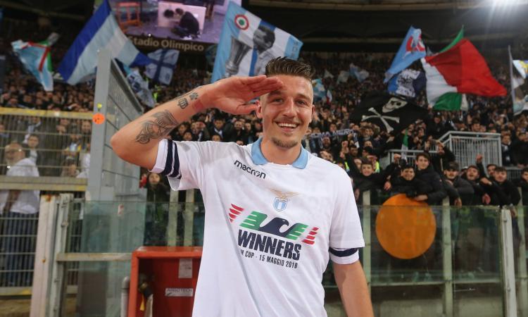 Inter e Manchester United sempre in corsa per Milinkovic Savic