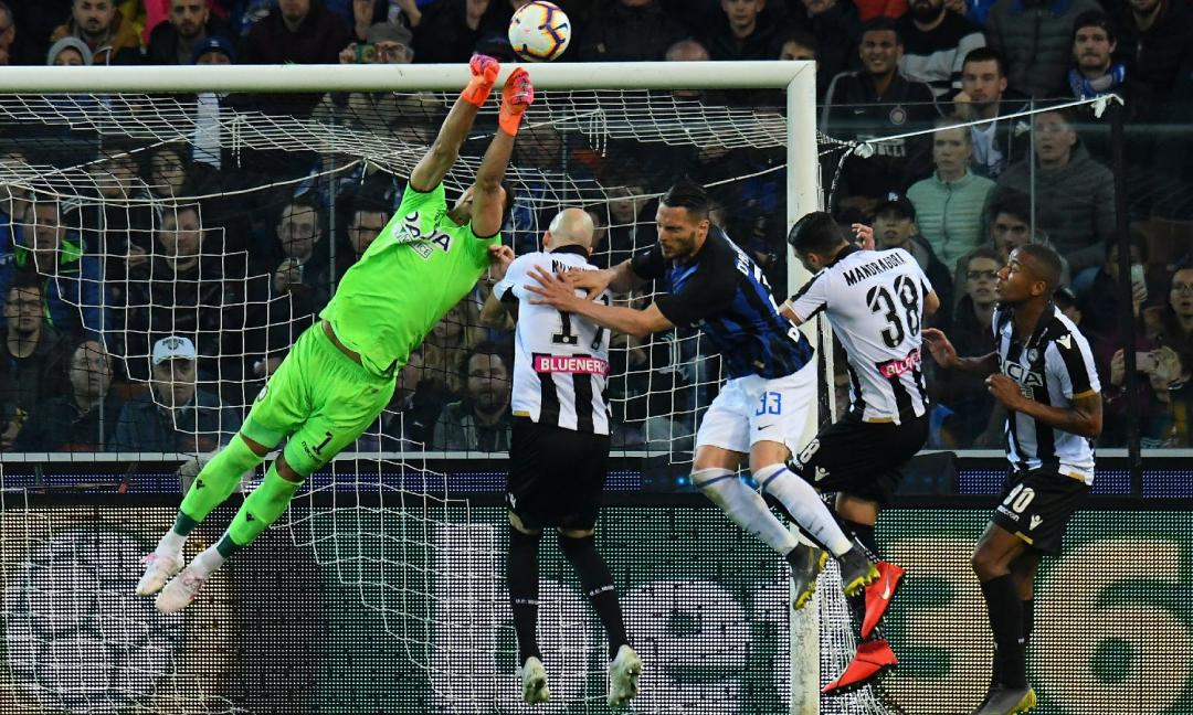 Udinese-Inter 0 a 0: Spalletti, fai le valige!