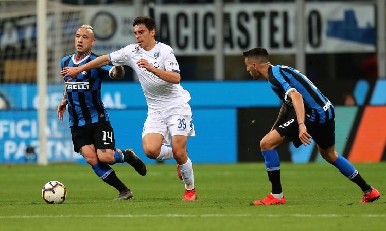 Inter-Empoli 2-1: il tabellino