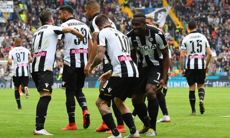Udinese, le pagelle di CM: Okaka e De Paul superlativi, Lasagna spento