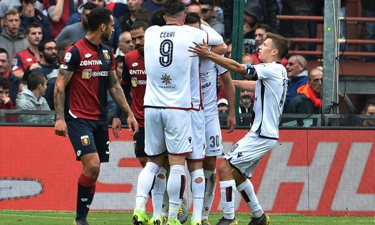 1-1 a Genova, il Cagliari è salvo! Anche l'Udinese resta in Serie A