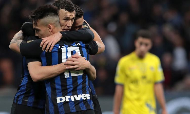 2-0 al Chievo, l'Inter si riprende il terzo posto ed è a due punti dalla Champions