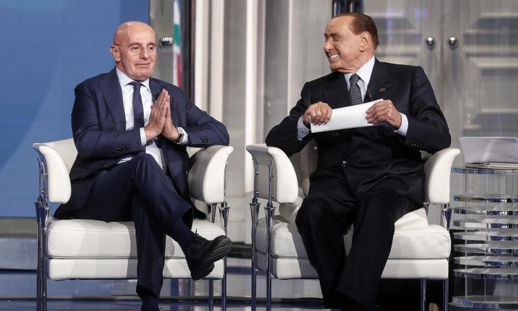 Berlusconi da Vespa con Sacchi: 'Il nostro Milan la squadra più forte del mondo'