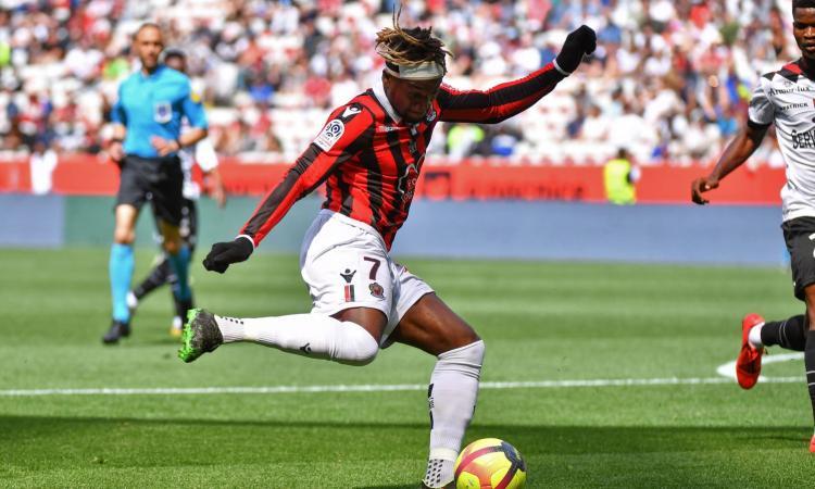 Milan, il Nizza spara alto per Saint-Maximin