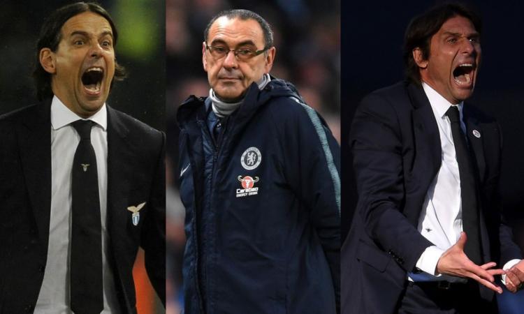 Juve, parte la caccia all'allenatore: Inzaghi bloccato, contatti con Sarri. Ma occhio a Conte, Mourinho e Zidane