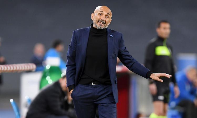 Inter, Spalletti: 'Perdere a Napoli ci sta. Con l'Empoli serve personalità, i giocatori devono gestire la pressione'