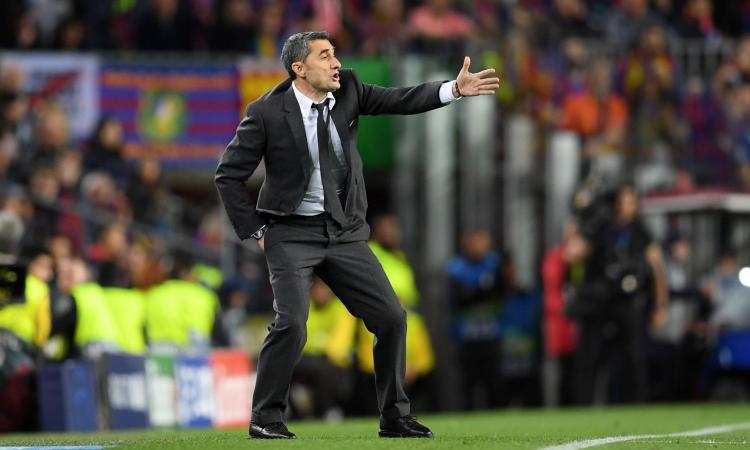 Barcellona, Valverde: 'Anche l'anno scorso avevamo 3 gol di vantaggio. Messi? Non smette di sorprendere' VIDEO